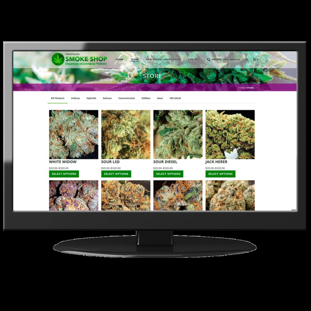 The #1 Cannabis Dispensary Theme - Smoke Shop
